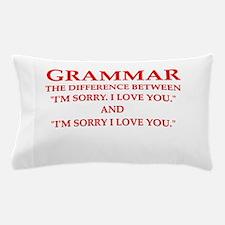 grammar Pillow Case