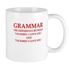 grammar Mugs