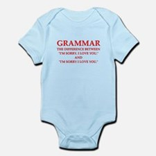 grammar Body Suit