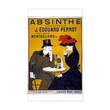 Vintage Absinthe Poster Decal