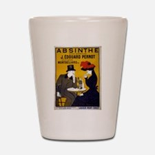 Vintage Absinthe Poster Shot Glass