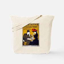 Vintage Absinthe Poster Tote Bag