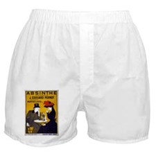 Vintage Absinthe Poster Boxer Shorts