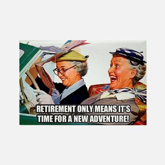 Retirement Adventure Magnets