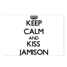 Keep Calm and Kiss Jamison Postcards (Package of 8