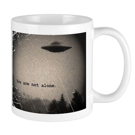 You Are Not Alone - large Mugs