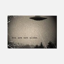 Unique Alien Rectangle Magnet (10 pack)