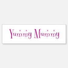 Yummy Mummy Bumper Car Car Sticker