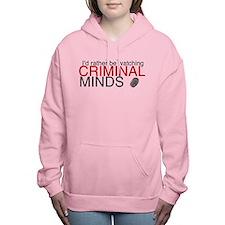 Watch Criminal Minds Women's Hooded Sweatshirt