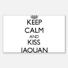 Keep Calm and Kiss Jaquan Decal