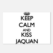 Keep Calm and Kiss Jaquan Postcards (Package of 8)