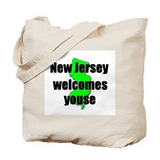 New Jersey Welcome Tote Bag