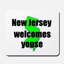 New Jersey Welcome Mousepad