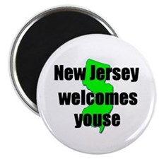 New Jersey Welcome Magnet