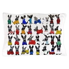 Scottie Dog 'World Cup' Pillow Case