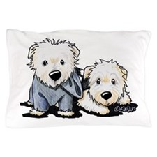 Griffin and Winston Pillow Case