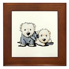 Griffin and Winston Framed Tile