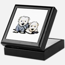 Griffin and Winston Keepsake Box