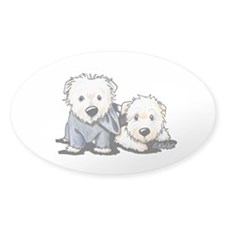 Griffin and Winston Decal