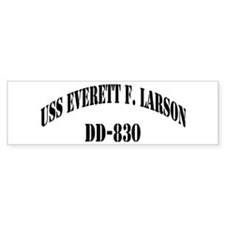 USS EVERETT F. LARSON Bumper Sticker