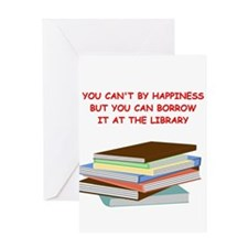BOOKS3 Greeting Cards