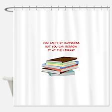 BOOKS3 Shower Curtain