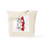 Sock Monkey Nurse Tote Bag