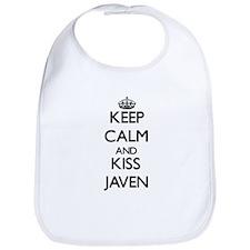 Keep Calm and Kiss Javen Bib