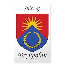 Bryngolau Sticker (rectangle)
