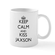 Keep Calm and Kiss Jaxson Mugs