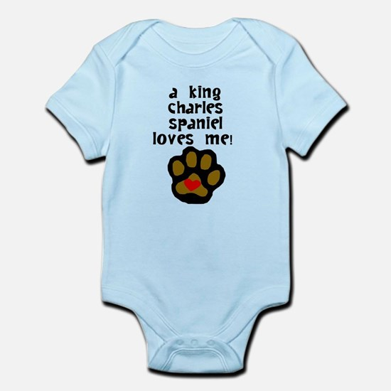 A King Charles Spaniel Loves Me Body Suit