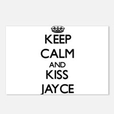 Keep Calm and Kiss Jayce Postcards (Package of 8)