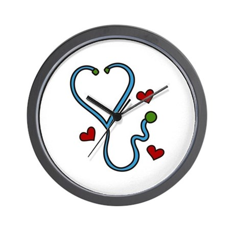 Stethoscope Wall Clock