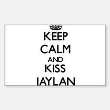 Keep Calm and Kiss Jaylan Decal