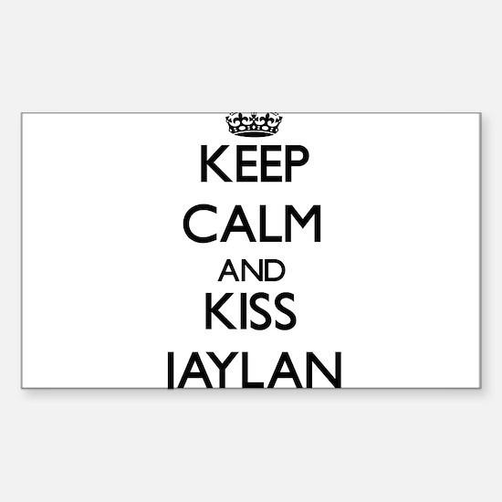 Keep Calm and Kiss Jaylan Decal