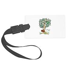 Tree Hugger Luggage Tag