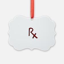 RX Pharmacist Ornament