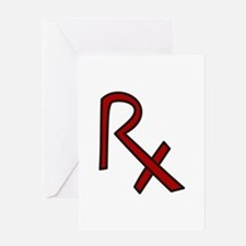 RX Pharmacist Greeting Cards