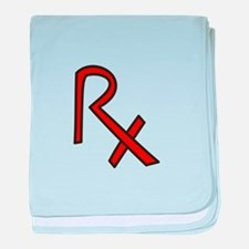 RX Pharmacist baby blanket