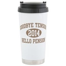 Cute Retirement Travel Mug