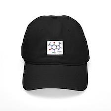 Caffeine Molecule Baseball Hat