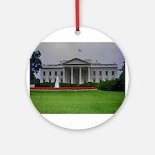 White House Ornament (Round)
