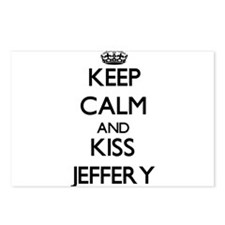 Keep Calm and Kiss Jeffery Postcards (Package of 8