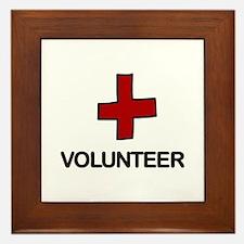 Volunteer Framed Tile