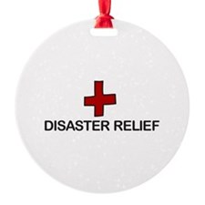 Disaster Relief Ornament