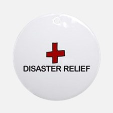 Disaster Relief Ornament (Round)