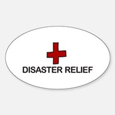 Disaster Relief Decal