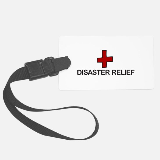 Disaster Relief Luggage Tag