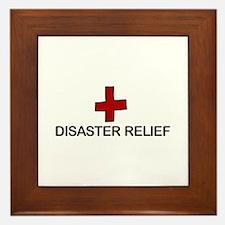 Disaster Relief Framed Tile