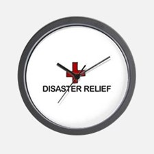 Disaster Relief Wall Clock